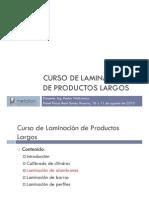3 Alambrones - Laminación de productos largos