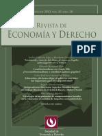 Revista de Economía y Derecho 38
