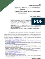 O PARADOXO QUE ENVOLVE O ART. 103-B, § 4º, DA CONSTITUIÇÃO FEDERAL - SILVA JR., Nelmon J.