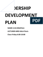 Leadership Development Plan Final