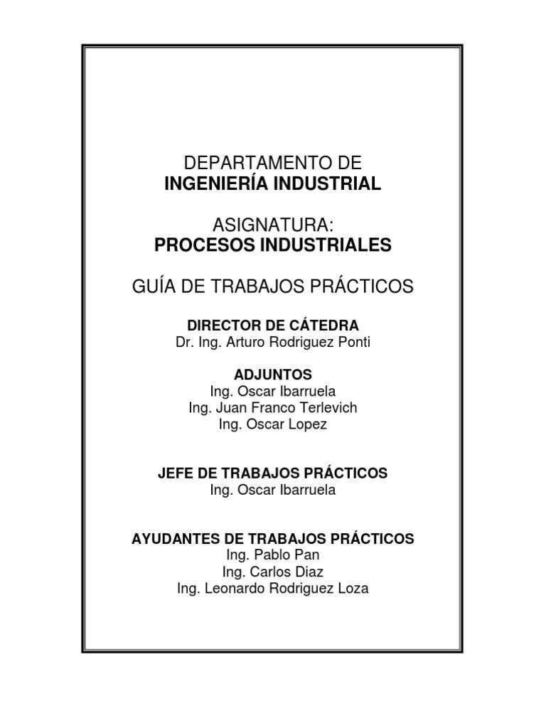 Gu a de for Guia mecanica de cocina pdf