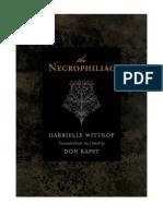 Gabrielle Wittkop - The Necrophiliac