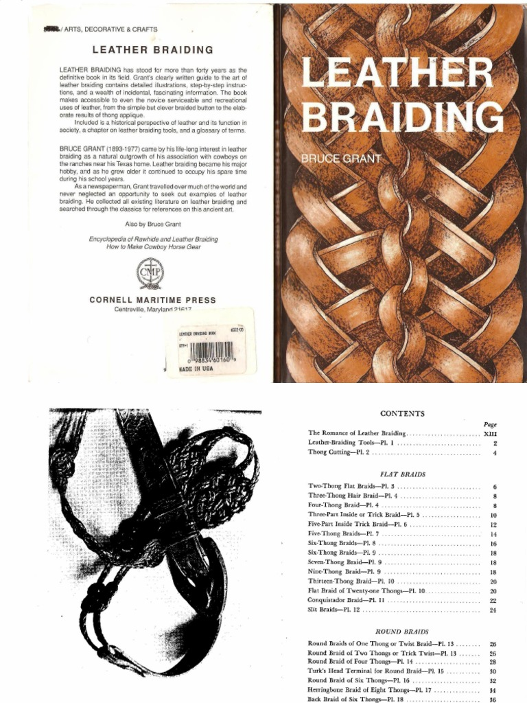Leather braiding bruce grant fandeluxe Choice Image