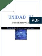Unidad IV Seguridad en Ing. de Software