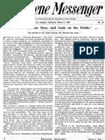 Nazarene Messenger - March 5, 1908