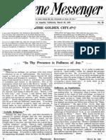 Nazarene Messenger - March 26, 1908