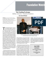 "The Funding Exchange: Building ""Alternative"" Community Foundations"