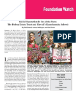 Racial Separatism in the Aloha State: The Bishop Estate Trust and Hawaii's Kamehameha Schools