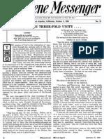 Nazarene Messenger - October 18, 1908