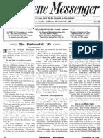 Nazarene Messenger - November 26, 1908