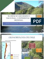 El espacio geográfico nacional, continental y mundial clase teorica