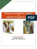 Jeroboam vs Josafat