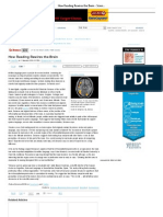 How Reading Rewires the Brain - ScienceNOW