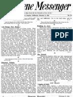 Nazarene Messenger - February 6, 1908