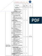 Programa Analitica Bio Si Im (an 2012-2013)