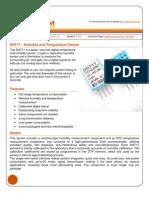 Sensor Temp y Humedad Dht11
