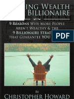 Building Wealth Like a Billionaire by Christopher Howard