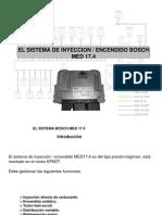 Sistema Injección Bosch MED 17.4 ppt