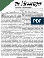 Nazarene Messenger - February 4, 1909