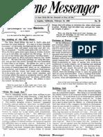 Nazarene Messenger - February 25, 1909