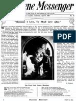 Nazarene Messenger - April 8, 1909