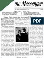 Nazarene Messenger - April 15, 1909