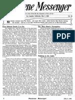 Nazarene Messenger - May 6, 1909