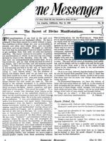 Nazarene Messenger - May 13, 1909