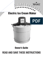Rival Ice Cream Maker 8550