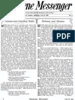 Nazarene Messenger - July 22, 1909