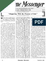 Nazarene Messenger - October 21, 1909
