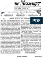 Nazarene Messenger - November 25, 1909
