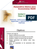 Clase 4.3 MBE Matrices