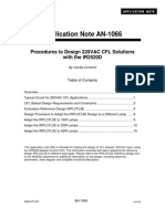 An-1066 - Procedures to Design 220VAC CFL Solutions -IRF