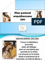 Plan Pastoral Arquidiocesano 2011