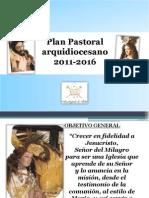 Plan Pastoral Arquidiocesano SEXENIO 2010-2016