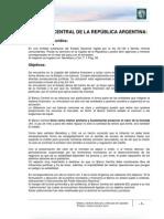 Lectura 3 - El Banco Central de la República Argentina