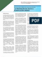 Prevencion Del Delito Mediante El Dise o Urbano Norma IRAM 3840