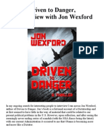 Driven to Danger, an interview with Jon Wexford