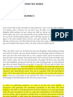 Understanding Prophecy (Peter Tan)