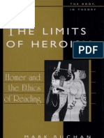 Buchan, M. - The Limits of Heroism. Homer and the Ethics of Reading. University of Michigan Press, 2007