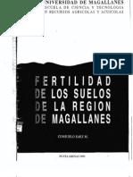 SAEZ, C. Fertilidad de los Suelos de la Región de Magallanes (1995)