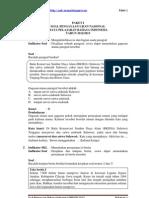Bahasa Indonesia SMP UN 2013 Paket 1