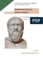 """FFyL, Curso monográfico """"Los maestros de política"""