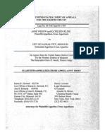 Wedow and Kline v. City of Kansas City, Nos. 04-1443 & 04-1704 (8th Cir. 2006)