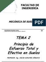 Tema 2 Esfuerzos Totales y Efectivos