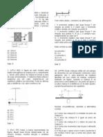 112_Lista de Física - Estática - 1º ano