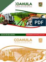 Programa Coahuila 2010-2011