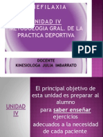 UNIDAD IV Kinefilaxia 2012