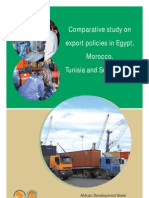 Comparative Study on Export Policies in Egypt Morocco Tunisia and South Korea